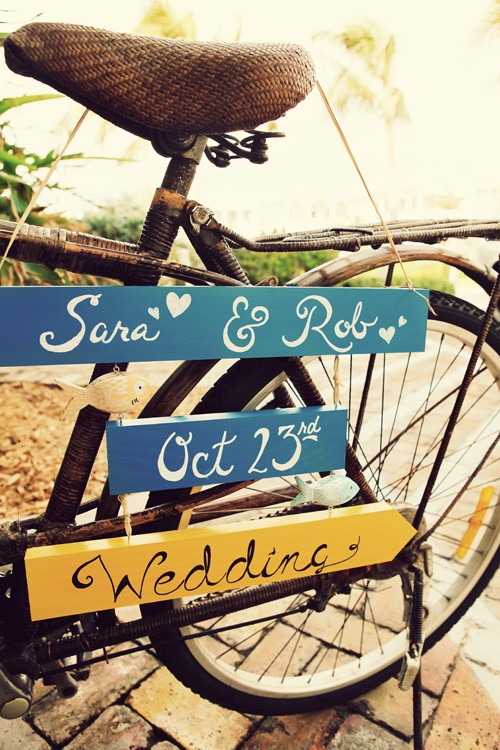 One Fine Day Wedding Sign